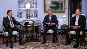 Встречу в Москве Бойко и Медведева организовала украинская власть