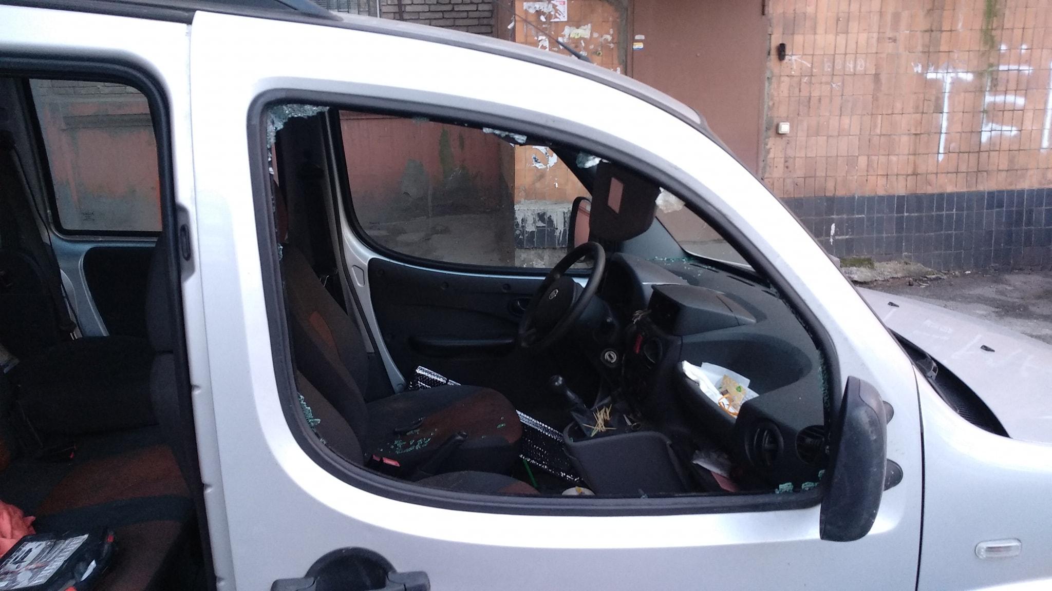 Полиция разыскала мужчину, обокравшего автомобиль запорожского активиста - ФОТО