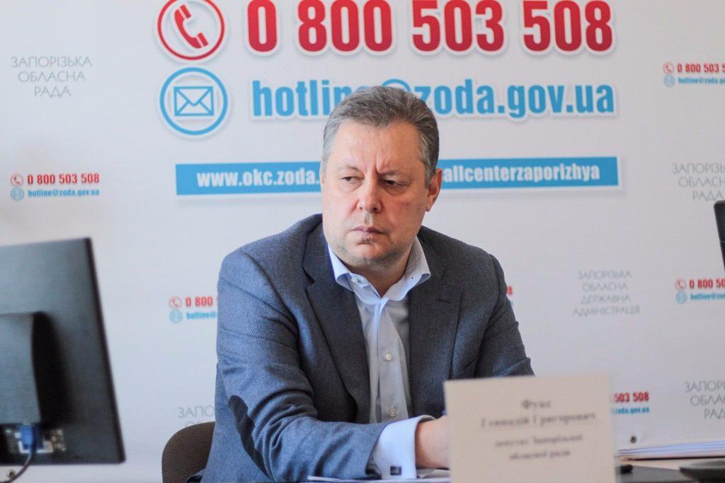 Запорожский депутат и предприниматель Геннадий Фукс задекларировал 10-миллионный доход семьи