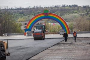 В Запорожье реконструкцию проспекта Маяковского планируют завершить в середине лета - ФОТО
