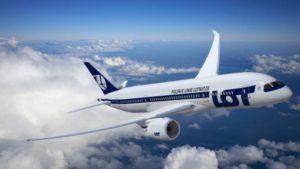 В Запорожье за десять месяцев 20 тысяч пассажиров воспользовались услугами польской авиакомпании LOT