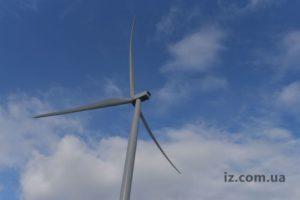 В Запорожской области на Приморской ВЭС уже установили 25 ветротурбин - ФОТО