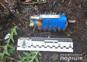 У жителя Запорожья полицейские изъяли пистолет и самодельную взрывчатку - ФОТО