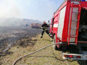 Пожары в Запорожской области пылали почти на 13 гектарах открытой территории - ФОТО