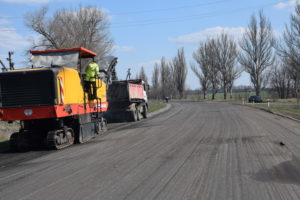 В Запорожской области продолжается ремонт трассы «Запорожье-Мариуполь» за миллиард гривен - ФОТО