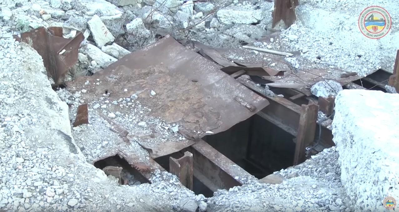 В Запорожской области в затопленной шахте нашли тело мужчины - ФОТО, ВИДЕО