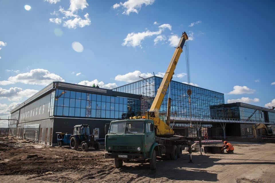 Новый терминал в запорожском аэропорту: выполнили более 90% общестроительных работ - ФОТО