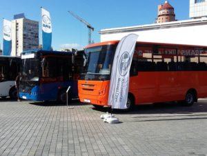 Запорожский автозавод представил на выставке новый пригородный автобус - ФОТО