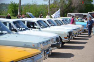 В Запорожье владельцы культового автомобиля «Волга» проведут традиционный весенний слет