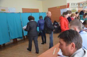 Стало известно, жители каких районов Запорожья стали самыми активными на выборах