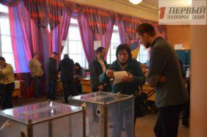 В Запорожской области подбили результаты явки по восьми из девяти избирательных округах