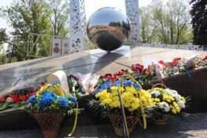 В Запорожье прошел митинг-реквием к годовщине Чернобыльской трагедии - ФОТО