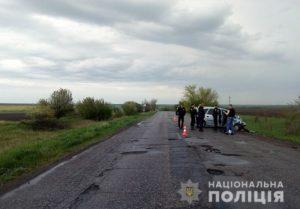 На трассе в Запорожской области столкнулись две легковушки: есть пострадавшие