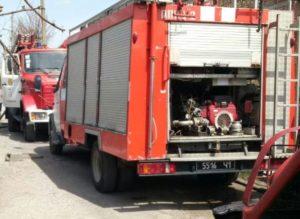 В Днепровском районе Запорожья горели надворные постройки - ФОТО