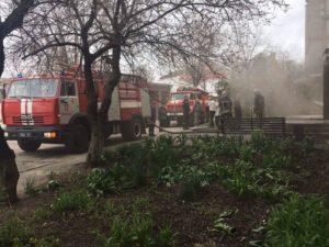 В Бердянске из-за нарушений правил безопасности горел музей - ФОТО