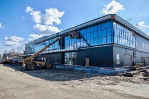 В запорожском аэропорту продолжается строительство нового терминала