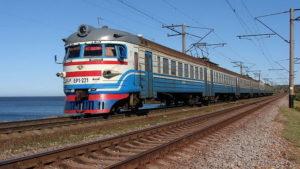 Приднепровская железная дорога занимает третье место по количеству пригородных перевозок