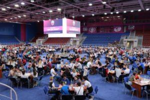 В Запорожье провели самый массовый турнир по «Что? Где? Когда?» - ФОТО