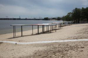 Завтра в Запорожье после реконструкции откроют часть Правобережного пляжа - ФОТО