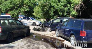 В Шевченковском районе Запорожья произошло тройное ДТП: четверо пострадавших - ФОТО