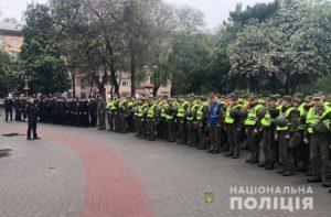 Полиция: существенных нарушений порядка во время празднования Дня Победы не допущено - ФОТО