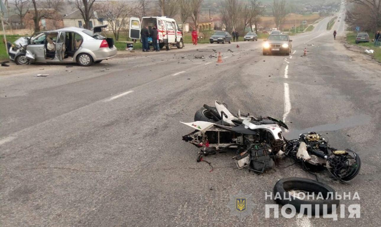 Запорожская полиция разыскивает свидетелей ДТП, в котором погиб мотоциклист - ФОТО