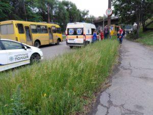В Запорожье столкнулись две маршрутки: пострадали четыре пассажира - ФОТО