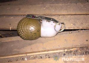 У жителя Запорожской области спецназовцы изъяли гранатомет и гранаты - ФОТО
