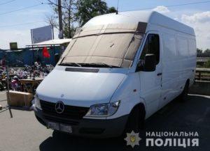 В Запорожье иностранец украл из микроавтобуса сумку с деньгами – ФОТО