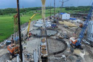 В Запорожской области компания «Нибулон» завершает строительство перегрузочного терминала
