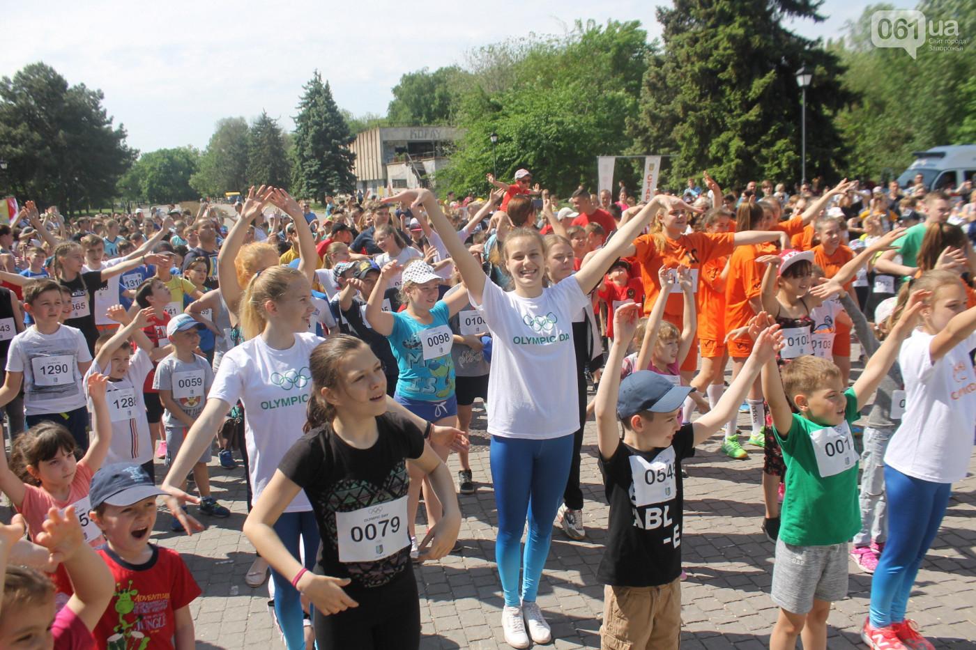 Сотни запорожцев приняли участие в широкомасштабном спортивном празднике - ФОТО