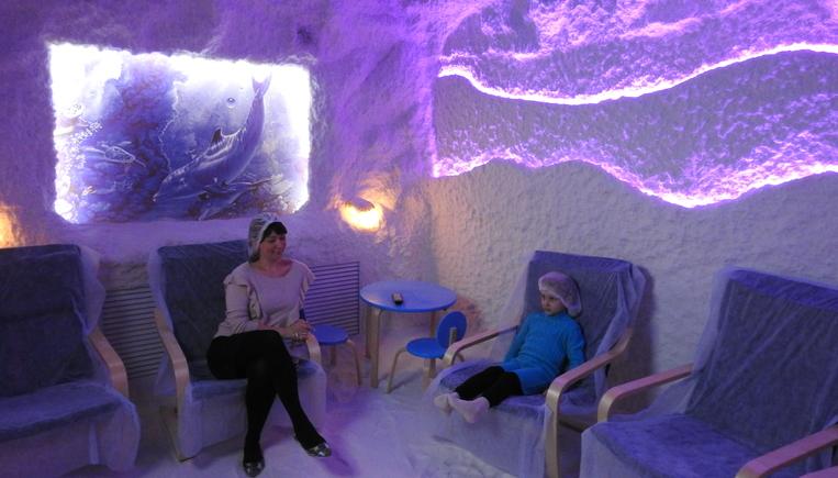 В одной из запорожских больниц открылась первая соляная комната – ВИДЕО