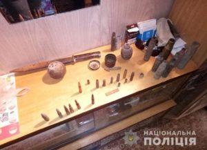 Житель Запорожья складировал в своей квартире гранаты и патроны - ФОТО