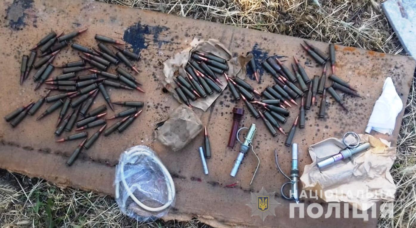 У жителя Запорізької області під час обшуку вилучили арсенал боєприпасів - ФОТО