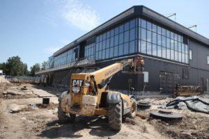 Будівництво нового терміналу в запорізькому аеропорту: які роботи виконують зараз - ФОТО