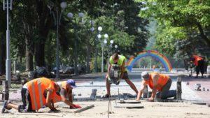 Реконструкция проспекта Маяковского в Запорожье завершится в июле - ФОТО