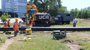 У Хортицькому районі Запоріжжя прокладуть 250 метрів нової каналізаційної труби - ФОТО