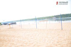 В Запорожье обнаружили отклонения по показателям воды на Центральном пляже города