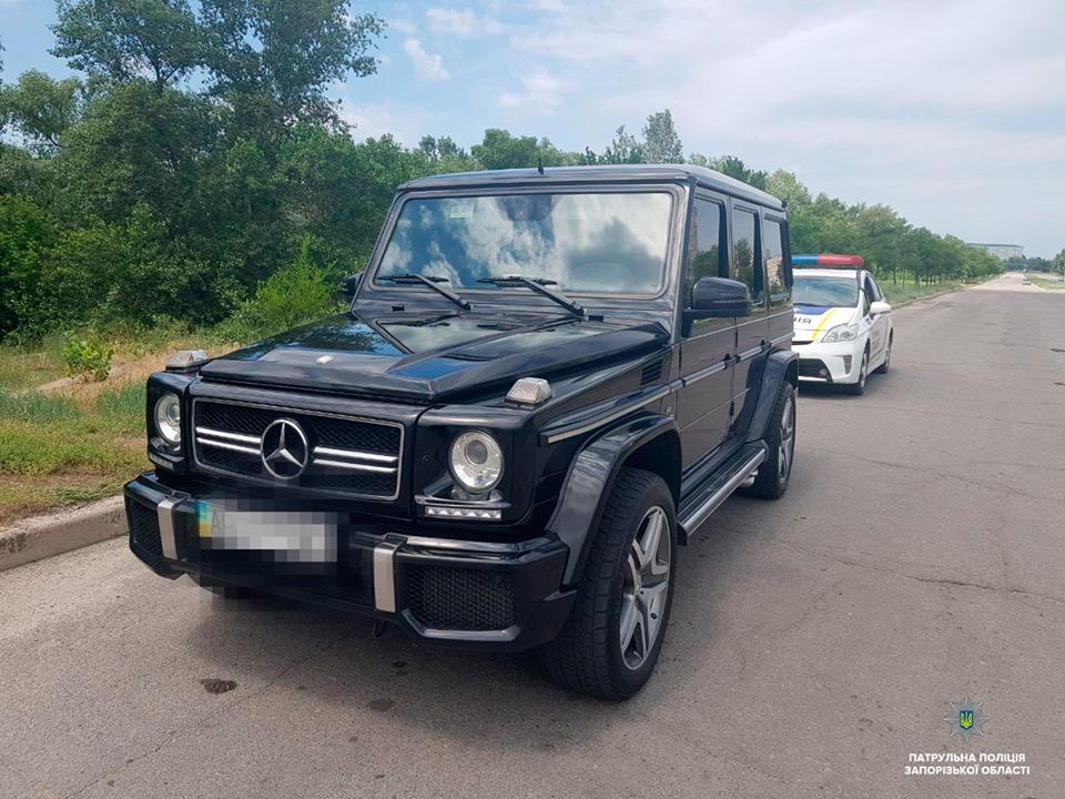 В Запорожье правоохранители задержали автомобиль экс-смотрящего – СМИ