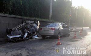 Полиция ищет свидетелей ДТП с пострадавшими в Запорожье