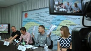 Депутаты Запорожского облсовета подвели итоги проверки работы областного УКСа - ФОТО, ВИДЕО