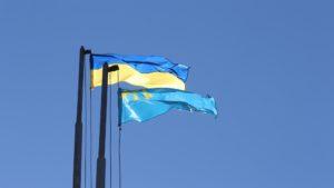 У центрі Запоріжжя підняли кримськотатарський прапор - ФОТО