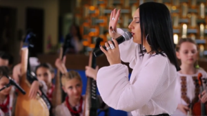 ТНМК, Джамала и Laud спели свои хиты под аккомпанемент юных запорожских музыкантов- ВИДЕО