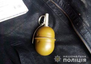 У жителя Запорожья в гараже нашли боевую гранату