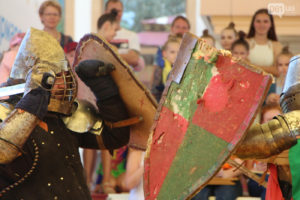 Рыцарские поединки, выступления дзюдоистов и катание на каяках: чем запомнилась ежегодная «Ярмарка спорта» - ФОТО