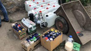 У жителя Запоріжжя вилучили алкогольний фальсифікат на 2,3 мільйона гривень - ФОТО, ВІДЕО