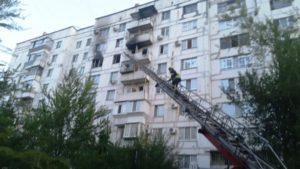 У Запоріжжі сталася пожежа в дев'ятиповерхівці: рятувальники евакуювали жильців - ФОТО
