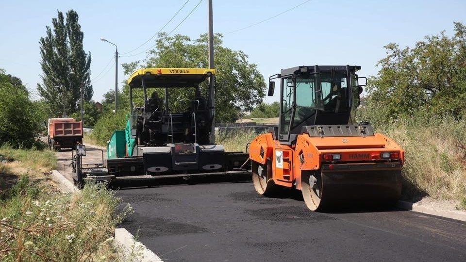 В Запорожье ремонтируют одну из дорог частного сектора Днепровского района - ФОТО