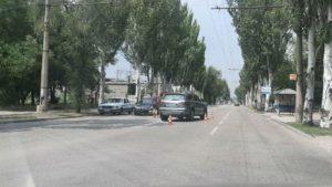В Запорожье на Седова столкнулись две легковушки - ФОТО