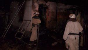 У Запорізькій області згоріла літня кухня – ФОТО